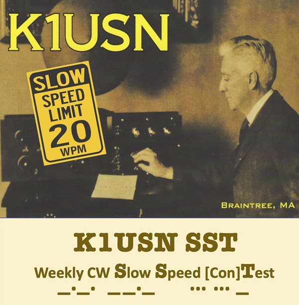 Weekly CW Slow Speed [con]Test